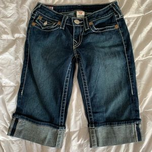 True Religion cropped pants